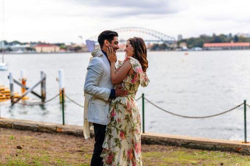 Evelyn Sharma Tushaan Bhindi Engagement Bollywood India Australia 09