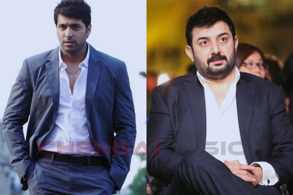 Both Jayam Ravi, Aravindswamy play cops in Bogan
