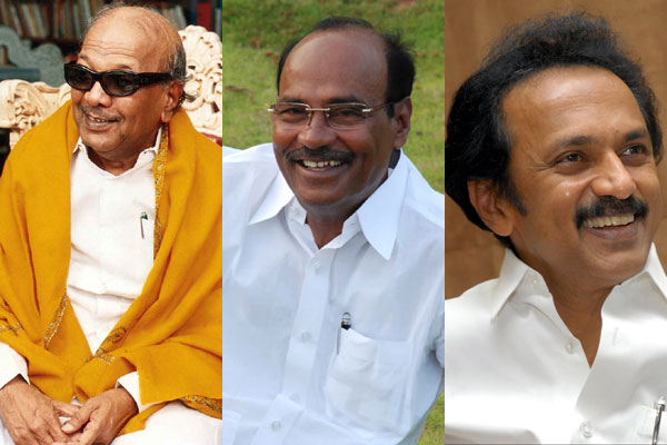 Karunanidhi, Ramadoss, Stalin greet Plus Two toppers