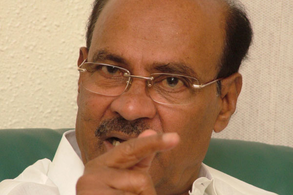 Ramadoss slams Rosaiah for urging EC to conduct polls