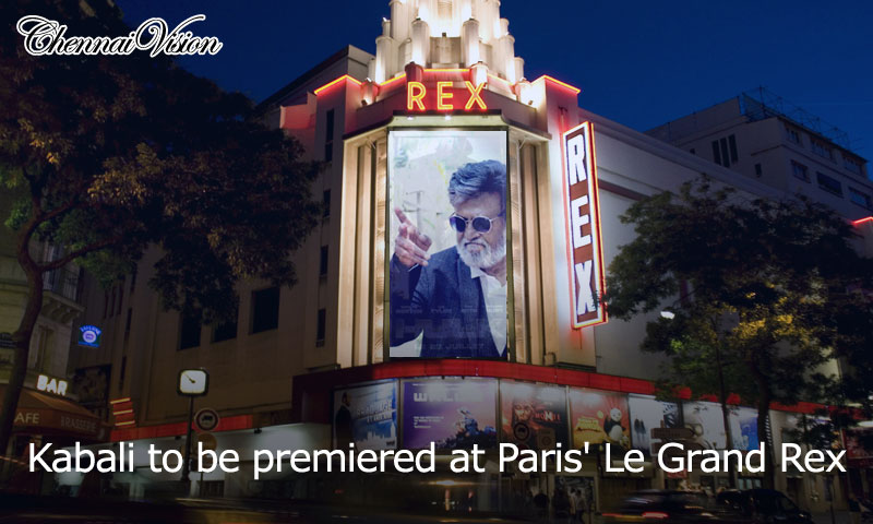 Kabali to be premiered at Paris' Le Grand Rex