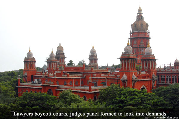 Lawyers boycott courts, judges panel formed to look into demands
