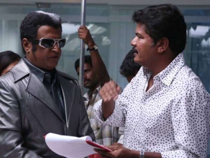 Shankar reveals Rajini's 2.0 look