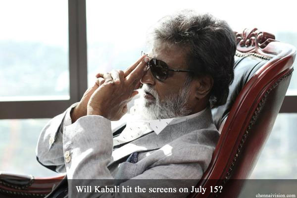 Will Kabali hit the screens on July 15?
