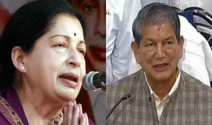 Jayalalithaa thanks Uttarakhand CM for steps to install Thiruvalluvar statue