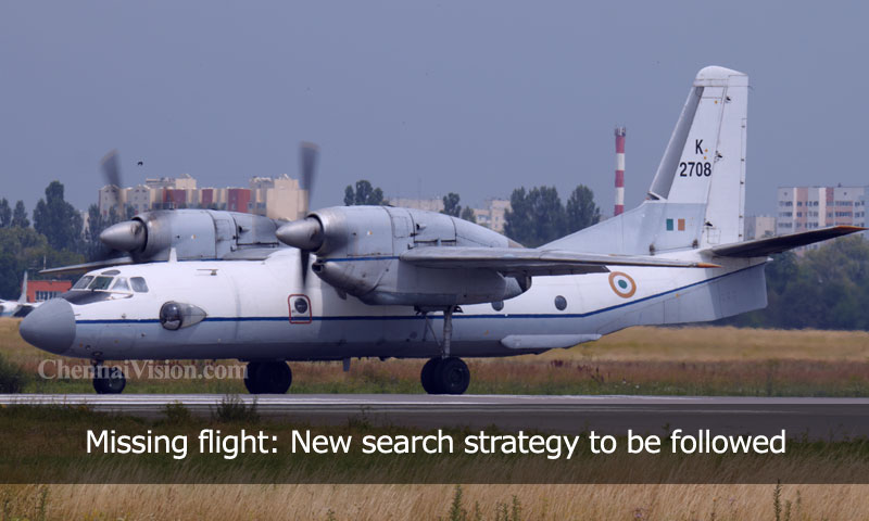 Missing flight: New search strategy to be followed