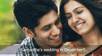 Samantha's wedding in December?