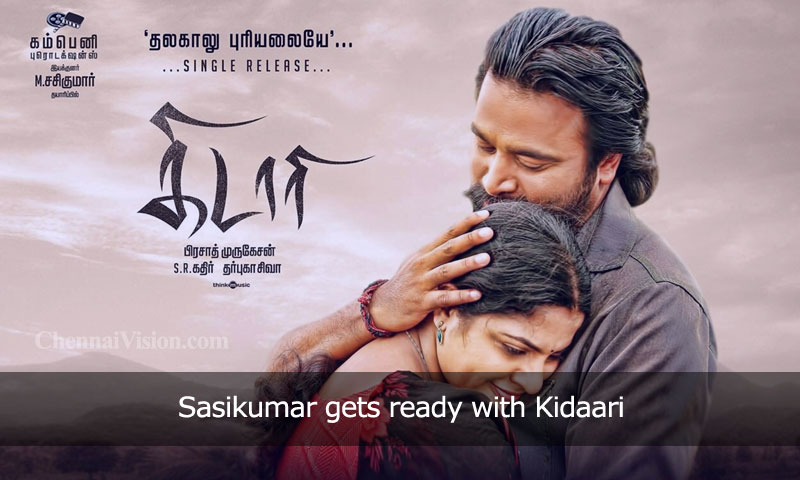 Sasikumar gets ready with Kidaari