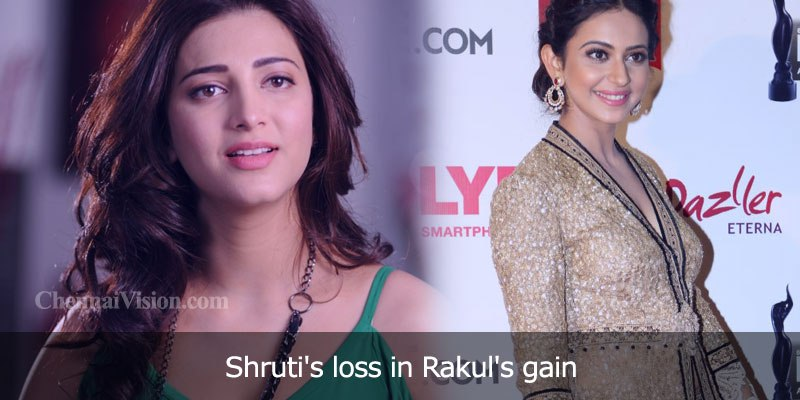Shruti's loss in Rakul's gain