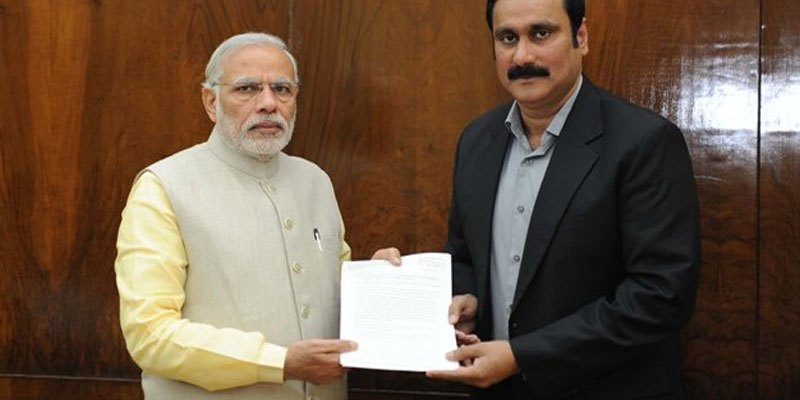 Anbumani meets Modi, seeks intervention in Palar and other issues