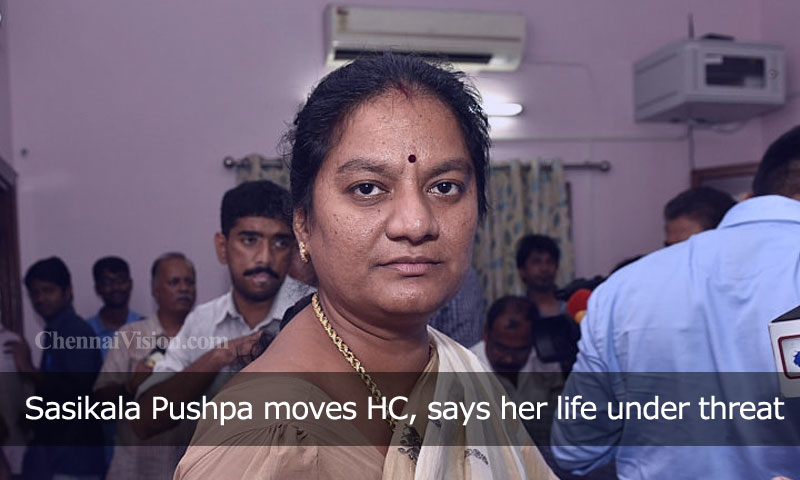 Sasikala Pushpa moves HC, says her life under threat