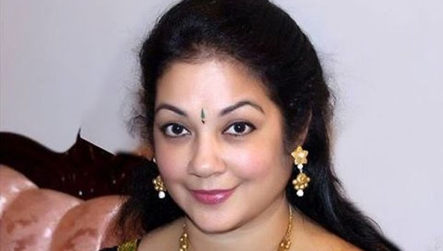 Shanthi Krishna files for divorce again