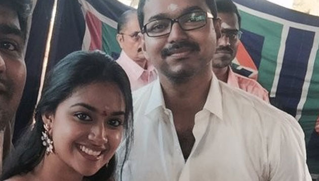 Vijay, Keerthi Suresh to shoot for Bhairava song in Europe