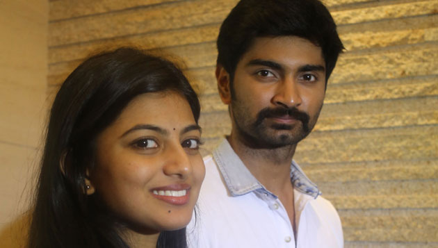 Anandhi walks out of Atharva movie