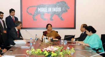 Nirmala Sitharaman launches the CIPAM Logo
