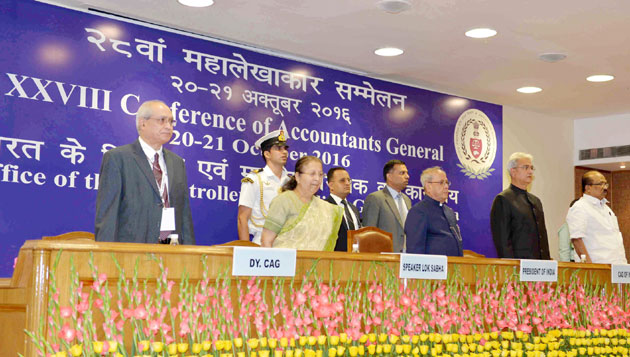 Pranab Mukherjee Inaugurates the 28th Accountants General Conference