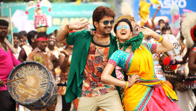 Vijay impressed with Bairavaa: Bharathan