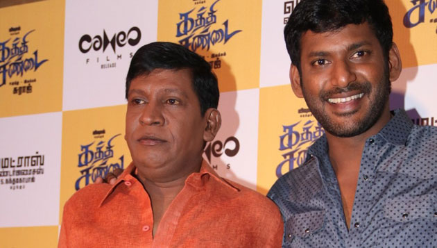 Vishal heaps laurels on Vadivelu