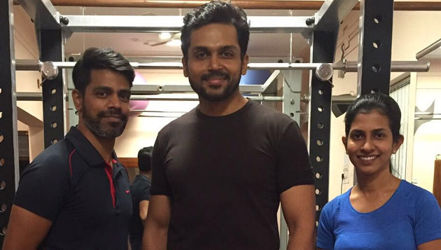 Karthi undergoes police training for cop story