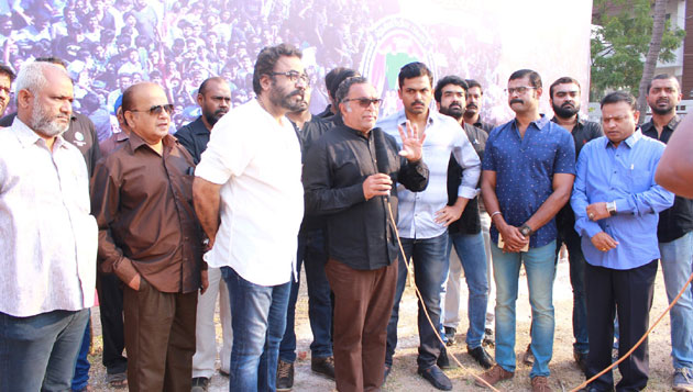 Nadigar Sangam requests media not to cover its fast protest