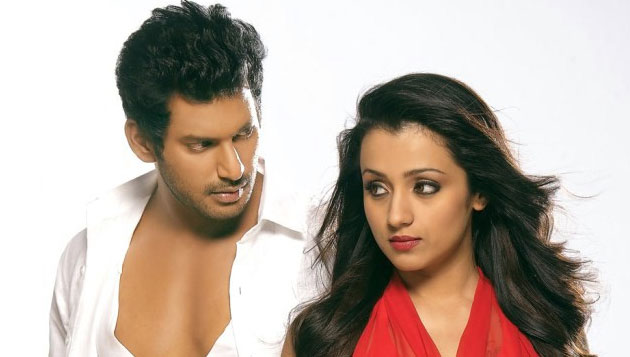Vishal, Trisha delete twitter accounts