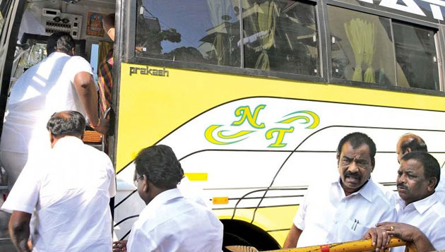 AIADMK MLAs say they were not illegally detained