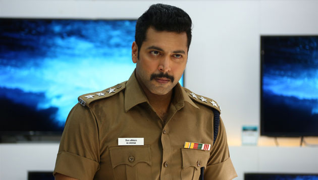 Jayam Ravi happy with Bogan response