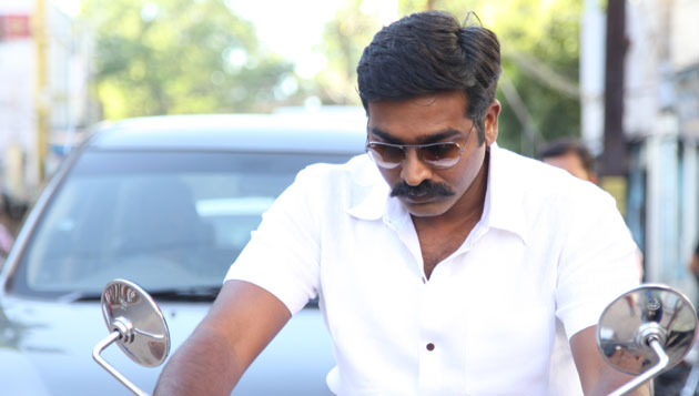 Vijay Sethupathi as tribal leader