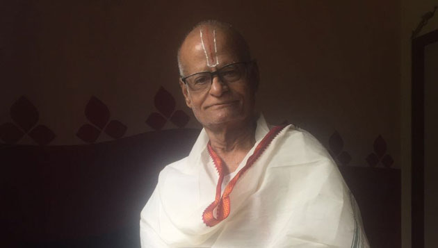 Actor Shyam Prasad's grandfather Prof. K.Venkatachari passed away