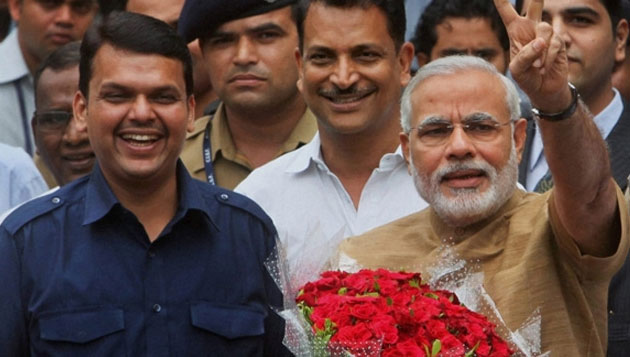 Big win by BJP in UP, Modi's lotus blooms
