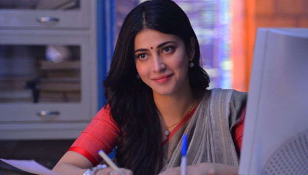 Shruti Haasan's special sessions for Sangamithra