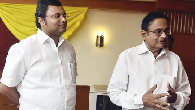 CBI files FIR against Karti Chidambaram, PC's son says he did no wrong