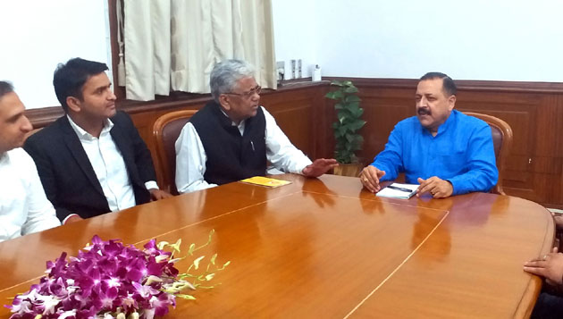 J&K Bar Association delegation calls on Dr Jitendra Singh