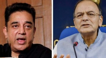 Kamal, Jaitley hit out at each other