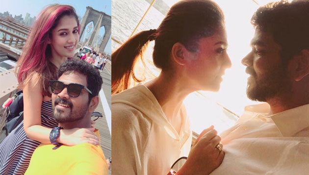 Vignesh Shivan, Nayanthara chill out in New York