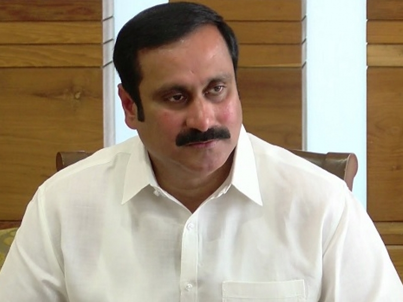 Anbumani admitted to hospital