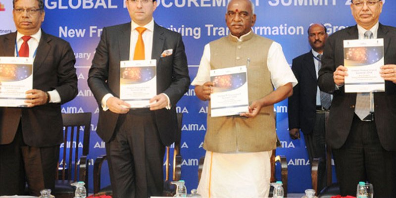 The Union Minister of State for Finance & Shipping, Shri Pon. Radhakrishnan inaugurates the two day Third Global Procurement Summit in national capital