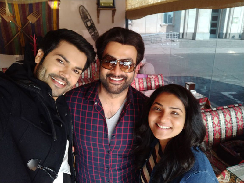 Ganesh Venkatram completes shooting with Prithviraj for 'My Story'!