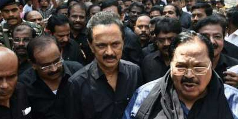 DMK walks out from Assembly over Thoothukudi issue
