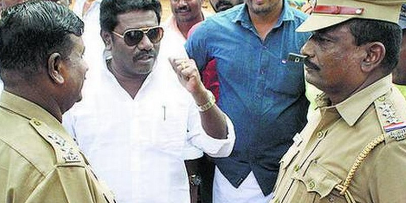 Cops book Karunas, but actor-MLA says he is very much at home