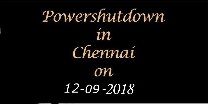 Power Shutdown 12.09.18