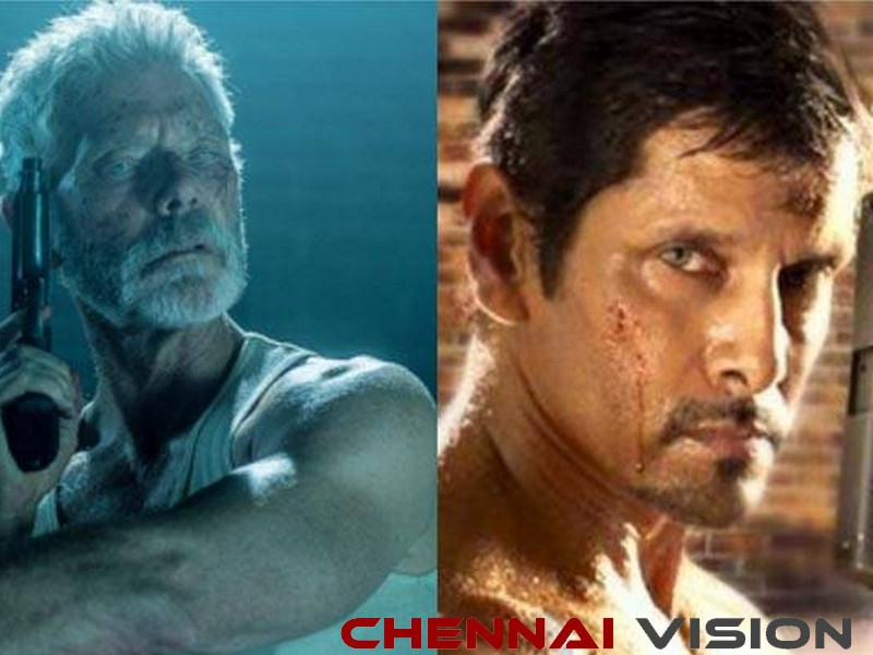 Vikram's Saamy opens big, 'Chiyaan' to remake Don't Breathe?