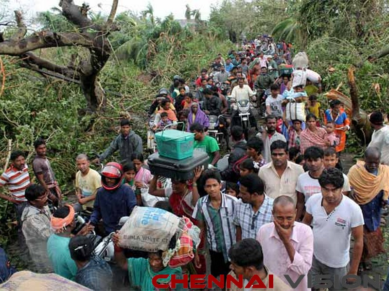 Gaja cyclone toll nears 50 power cut in many areas people protest relief works going on