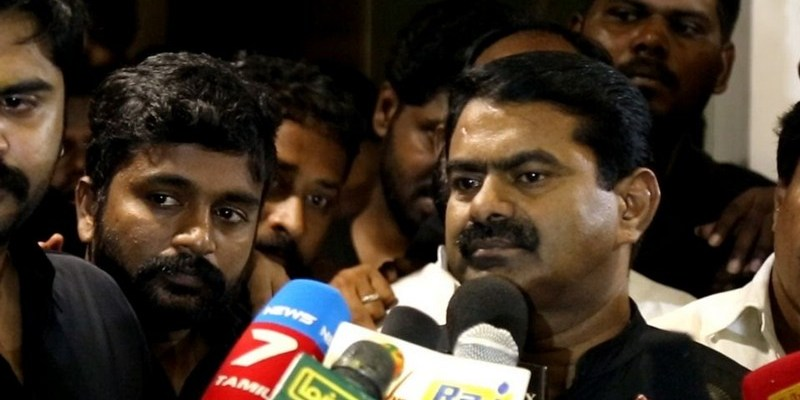 Seeman's comments against Vijay triggers protest among 'Thalapathy' fans