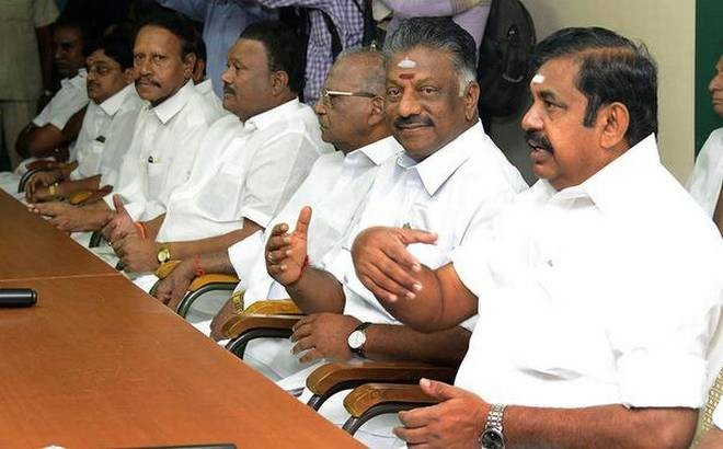 Alliance AIADMK to hold crucial meet on Feb 8