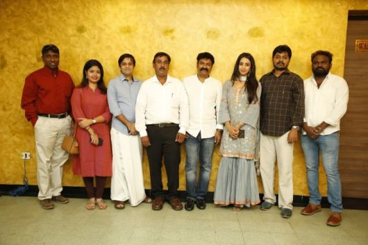 Vijay TV Fame Ramar Pairs with Sanjay Galrani Movie Pooja Stills (13)