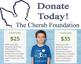Cherab-Foundation t-shirt campaign