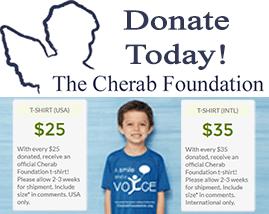 Cherab-Foundation t-shirt campaign