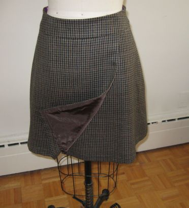 Simplicity 1322 houndstooth