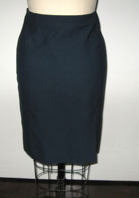 Vogue 7937 navy wool back